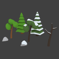 3d forest pack model