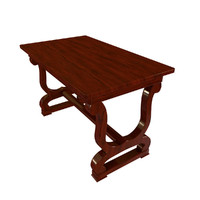 blend antique wooden table 2