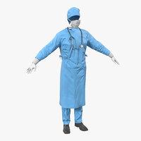 3d surgeon dress 9
