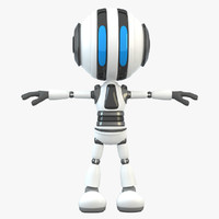robot bot 3d c4d