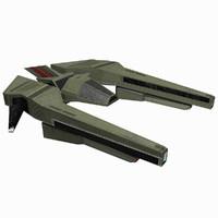 3d max - starship 7
