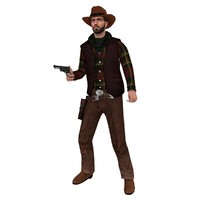 3ds max rigged cowboy hat 4