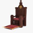 Throne 3D models