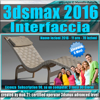 3ds max 2016 Interfaccia 3 Mesi