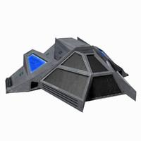 - starship 5 3d model