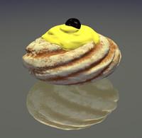 Zeppola italian pastry