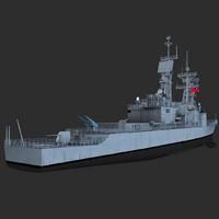3d keelung class destroyer model