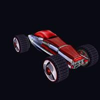3dsmax cartoon car
