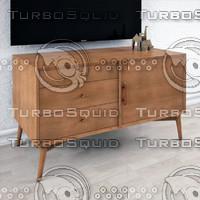 3d model furniture wood
