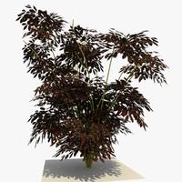 3ds max plant bush