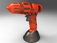 3d obj multifunction chargeable drill
