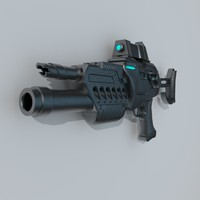 sci-fi rifle 3ds