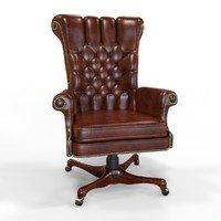 3d executive chair s model