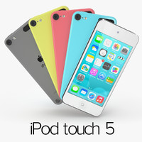 3d apple ipod touch 5
