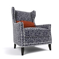 3d wing chair fairfield