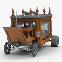 custom boothill express rod 3d model