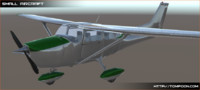 3d small aircraft