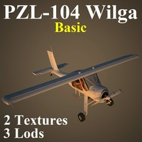 3d wilga basic model