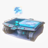 max hologram table