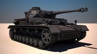 panzer iv g 3d max