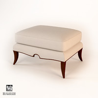 christopher guy arch ottoman 3d max