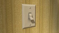 Rounded Light Switch