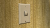 dimmer switch 3d model