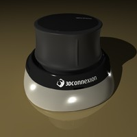 connexion spacemouse 3d model