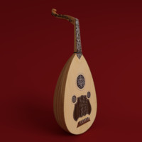 obj oud instrument string
