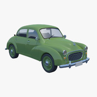 3d vintage car general model