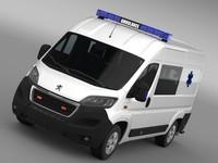 Peugeot Boxer Van Ambulance 2015