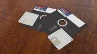 3d floppy disks