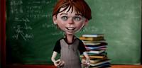 boy cartoon 3d model