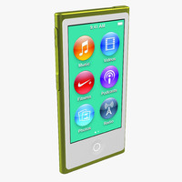 3ds max ipod nano lime