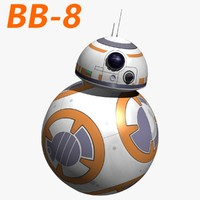 3d model android star wars