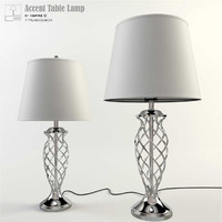 inspire-q accent table lamp 3d max