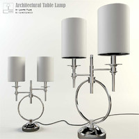 3d model lamps architectural table