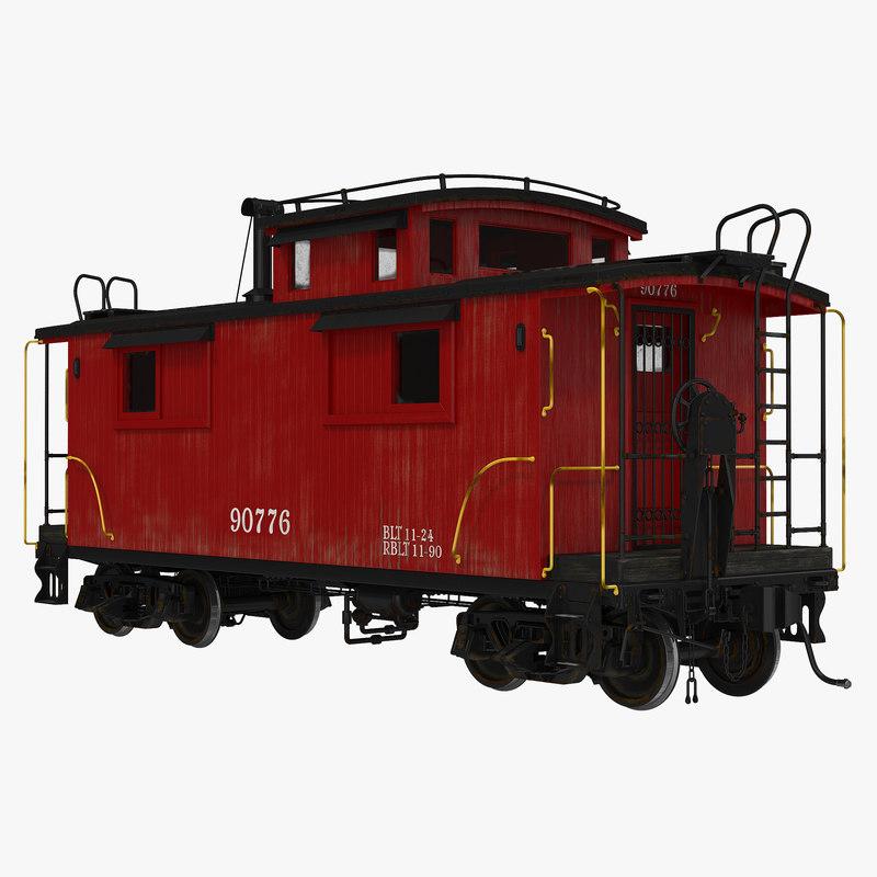 Caboose 3d model 00.jpg