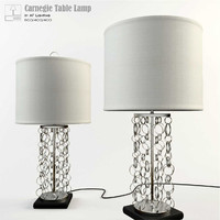 max af lighting carnegie table lamp