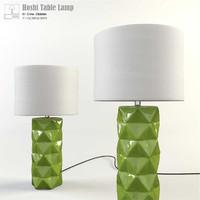 cyan hoshi table lamp 3d max