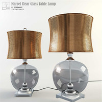 uttermost glass table lamp max