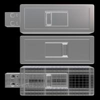 0 flash drive 3d fbx