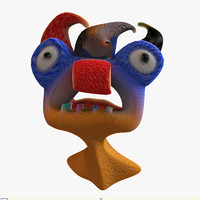 head silly 3d model