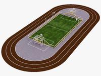 multisport sport stadium 3d obj