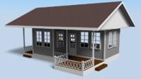 maya simple house