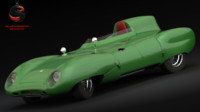 1964 car 3d model
