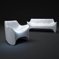 tokyo-pop-armchair-and-sofa 3d max