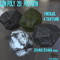 4 stone 3d blend