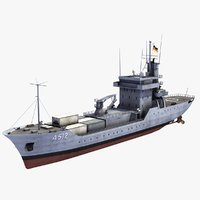 type elbe class replenishment 3d 3ds