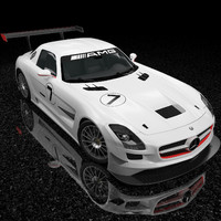 Mercedes-Benz SLS AMG GT3 And The Scene